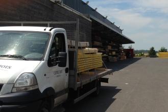 Camion de livraison - Catimel bois