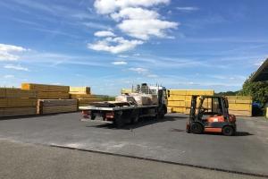 Chargement camion - Catimel bois